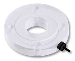 "Sight Glass Flange 3"" Lighted"