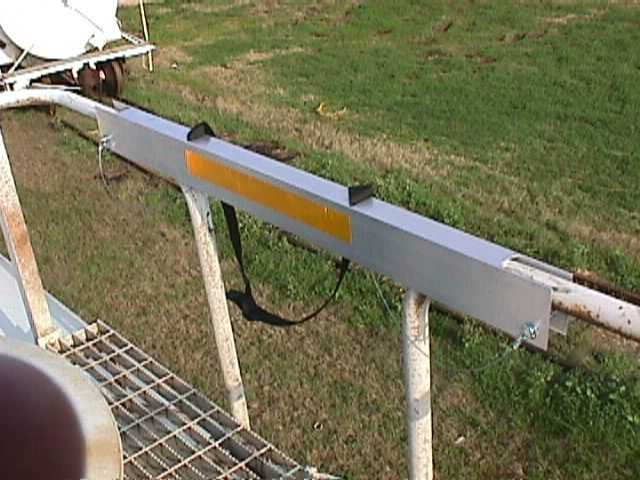 "Handrail Safety Guard, 40"" Long, Offset Opening"