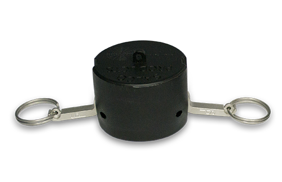 2 inch Dust Cap with EPDM Gasket, Stainless Steel Arms